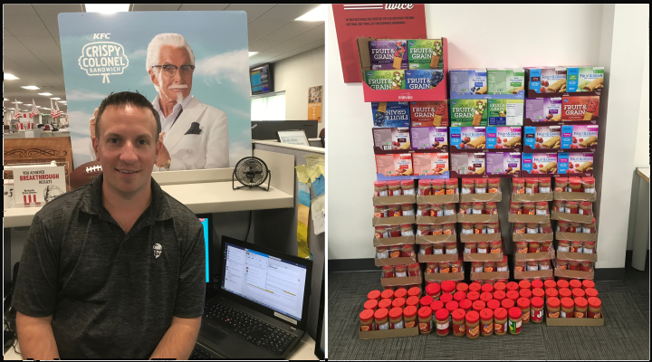 Inspired by his own childhood, this 22-year KFC veteran is helping hungry kids in Louisville