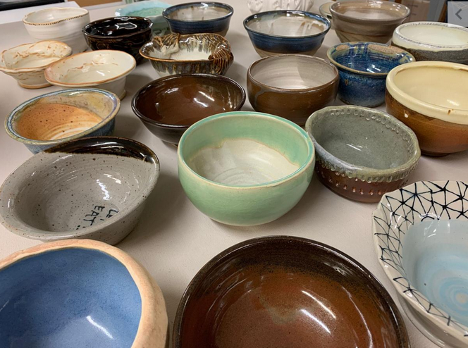 Potters share their passion for ceramics to help feed the hungry