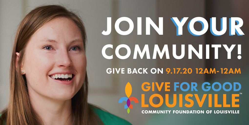 Give for Good Louisville is Sept. 17, 2020