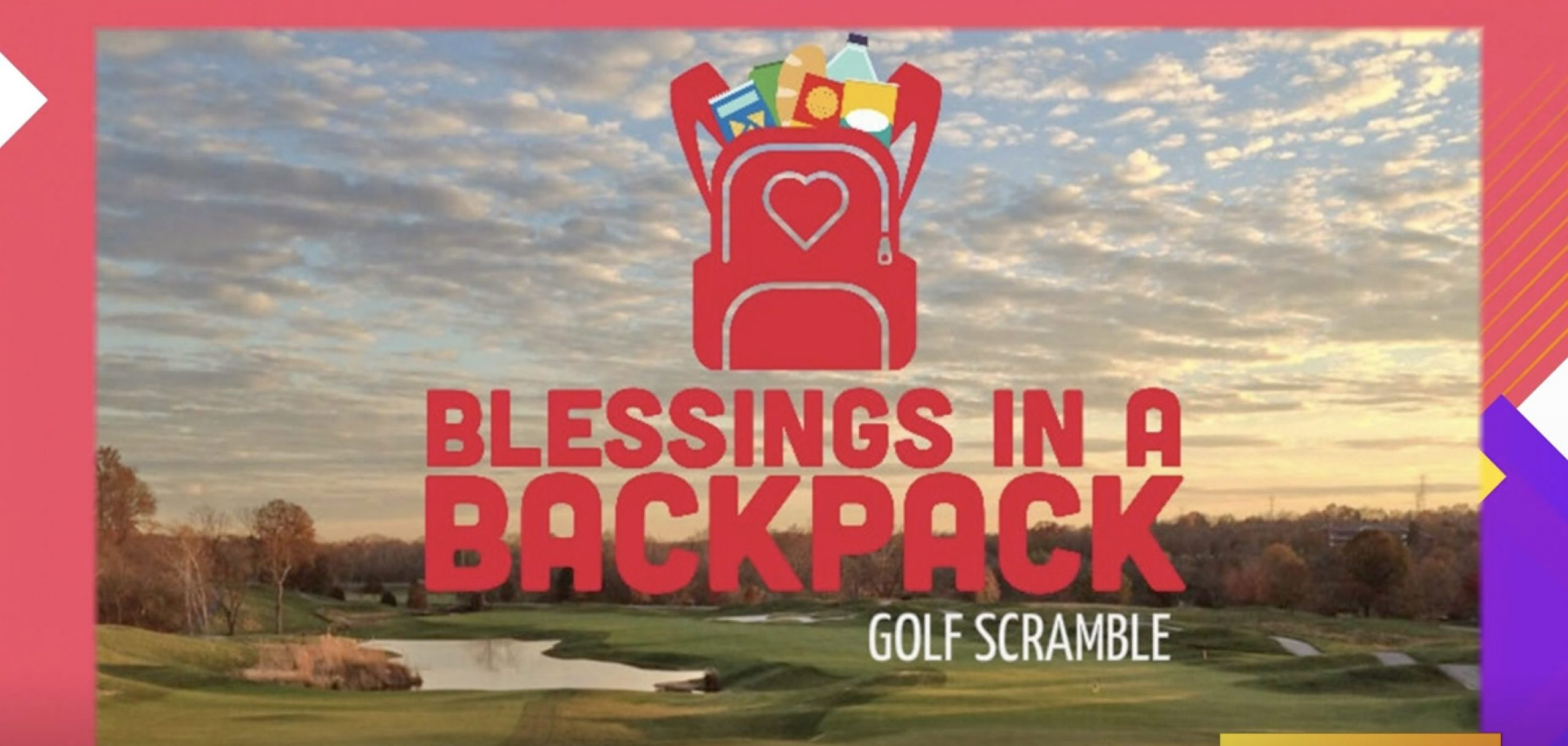 Blessings in a Backpack Hosts 4th Annual Golf Scramble