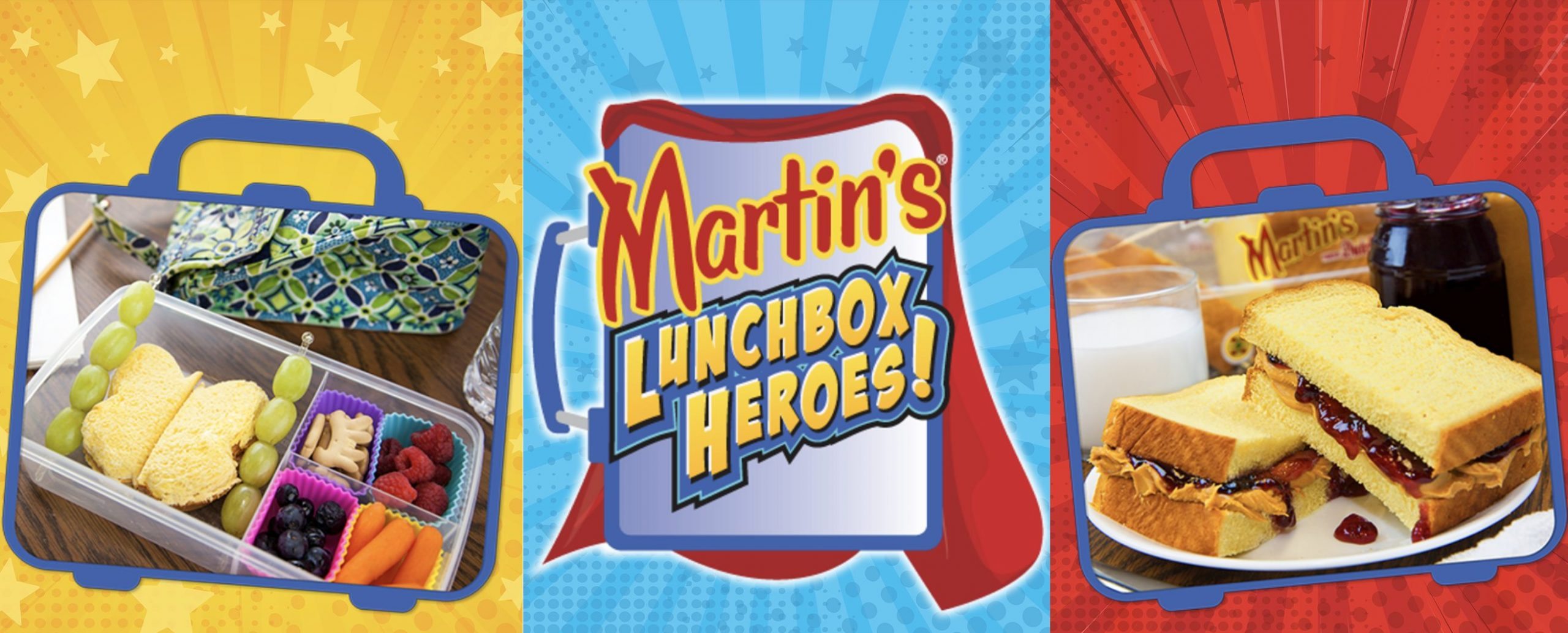 Martin's Lunchbox Heroes charity campaign supports Blessings in a Backpack
