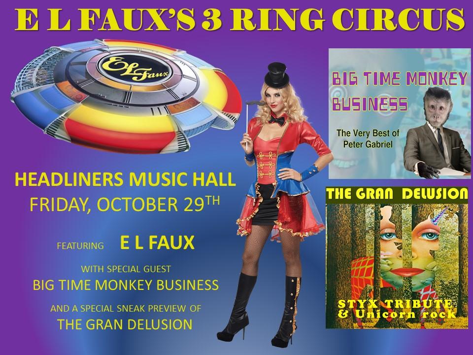 3 rign circus poster